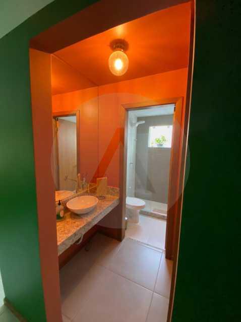 7 Casa Padrão Piratininga. - Imobiliária Agatê Imóveis vende Casa Duplex - Piratininga - Niterói. - HTCA40131 - 8