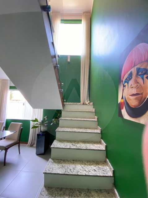 17 Casa Padrão Piratininga. - Imobiliária Agatê Imóveis vende Casa Duplex - Piratininga - Niterói. - HTCA40131 - 18