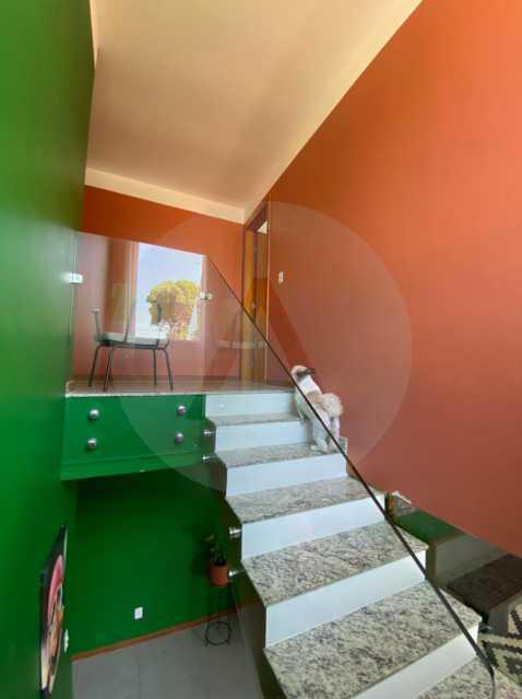 18 Casa Padrão Piratininga. - Imobiliária Agatê Imóveis vende Casa Duplex - Piratininga - Niterói. - HTCA40131 - 19