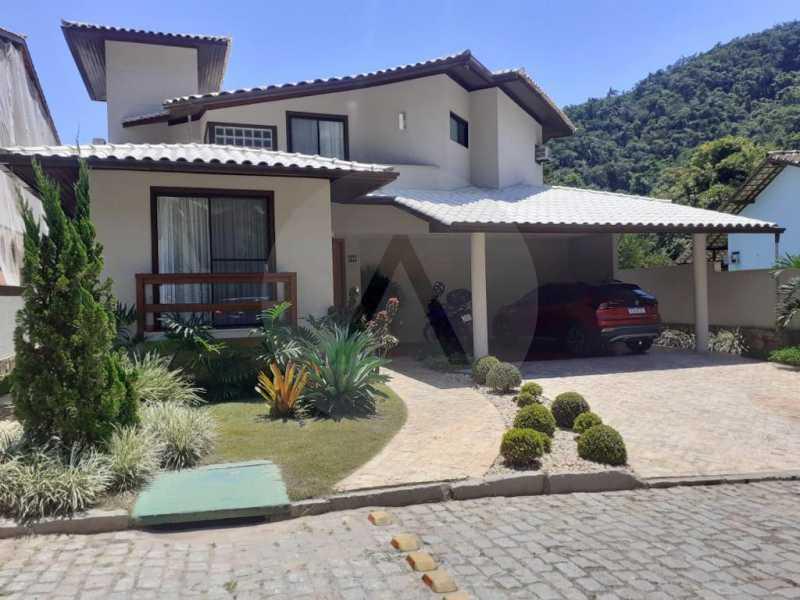 2 Casa Condomínio Camboinhas. - Imobiliária Agatê Imóveis vende Espetacular Casa em Condomínio - Camboinhas - Niterói. - HTCN40088 - 3