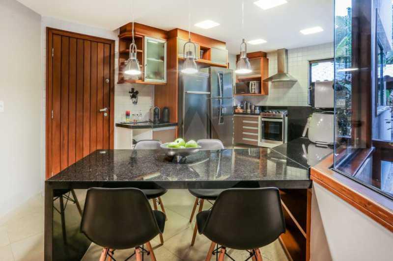 6 Casa Condomínio Camboinhas. - Imobiliária Agatê Imóveis vende Espetacular Casa em Condomínio - Camboinhas - Niterói. - HTCN40088 - 7