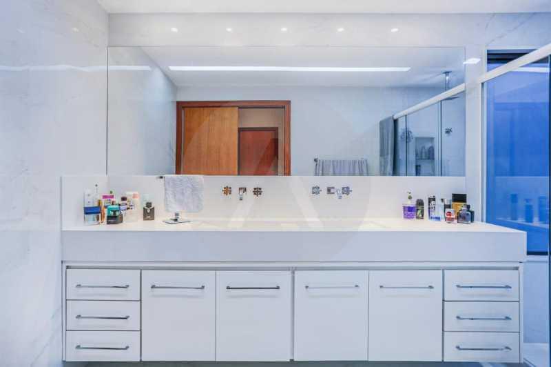 28 Casa Condomínio Camboinhas - Imobiliária Agatê Imóveis vende Espetacular Casa em Condomínio - Camboinhas - Niterói. - HTCN40088 - 29