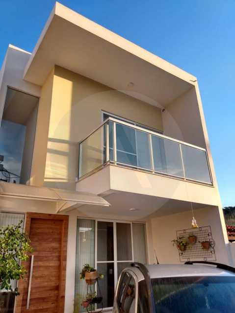 1 Casa Padrão Piratininga. - Imobiliária Agatê Imóveis vende ótima Casa Duplex - Piratininga - Niterói. - HTCA30266 - 1