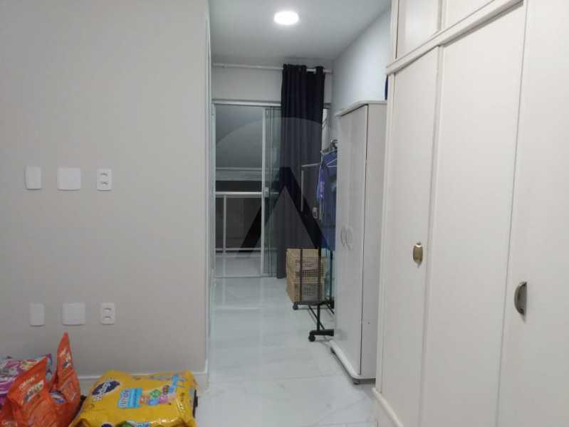 19 Casa Padrão Piratininga. - Imobiliária Agatê Imóveis vende ótima Casa Duplex - Piratininga - Niterói. - HTCA30266 - 20