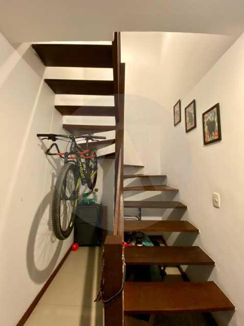 9 Casa Condomínio Itaipu. - Imobiliária Agatê Imóveis vende Oportunidade! Casa Duplex em Condomínio de 150 m² Itaipu - Niterói. - HTCN40089 - 10