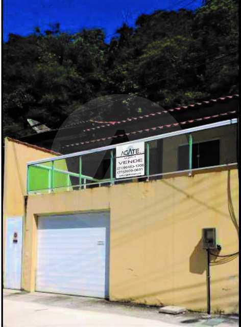 1 Casa Linear Itaipu. - Imobiliária Agatê Imóveis vende Casa Linear de 140m² Itaipu - Niterói. - HTCA30268 - 1