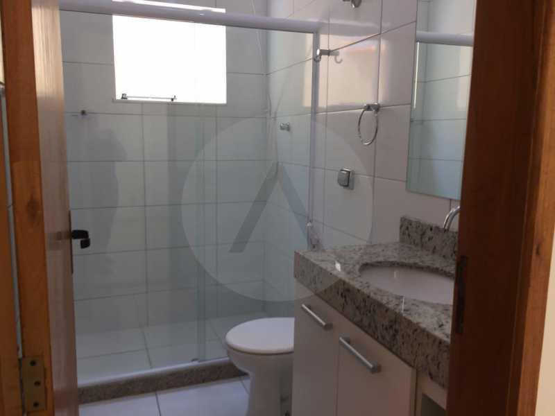 8 Casa Linear Itaipu. - Imobiliária Agatê Imóveis vende Casa Linear de 140m² Itaipu - Niterói. - HTCA30268 - 9