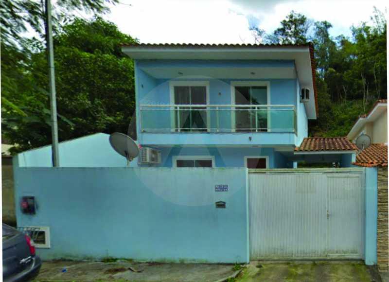 1 Casa Padrão Itaipu - Imobiliária Agatê Imóveis vende Casa Padrão de 130m² Itaipu - Niterói. - HTCA30269 - 1