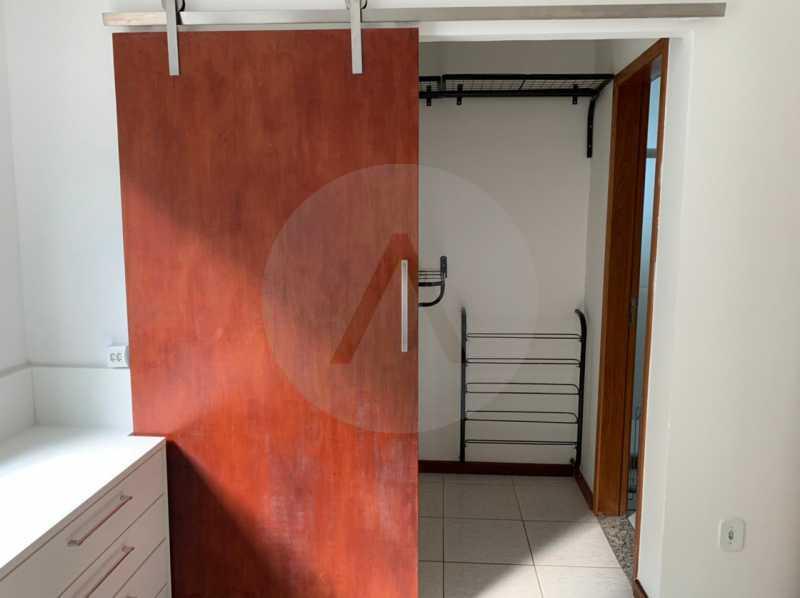 14 Casa Padrão Itaipu 24. - Imobiliária Agatê Imóveis vende Casa Padrão de 130m² Itaipu - Niterói. - HTCA30269 - 15
