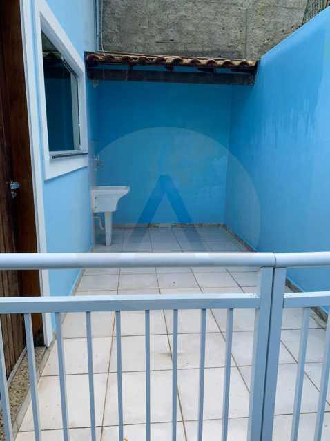 22 Casa Padrão Itaipu. - Imobiliária Agatê Imóveis vende Casa Padrão de 130m² Itaipu - Niterói. - HTCA30269 - 22