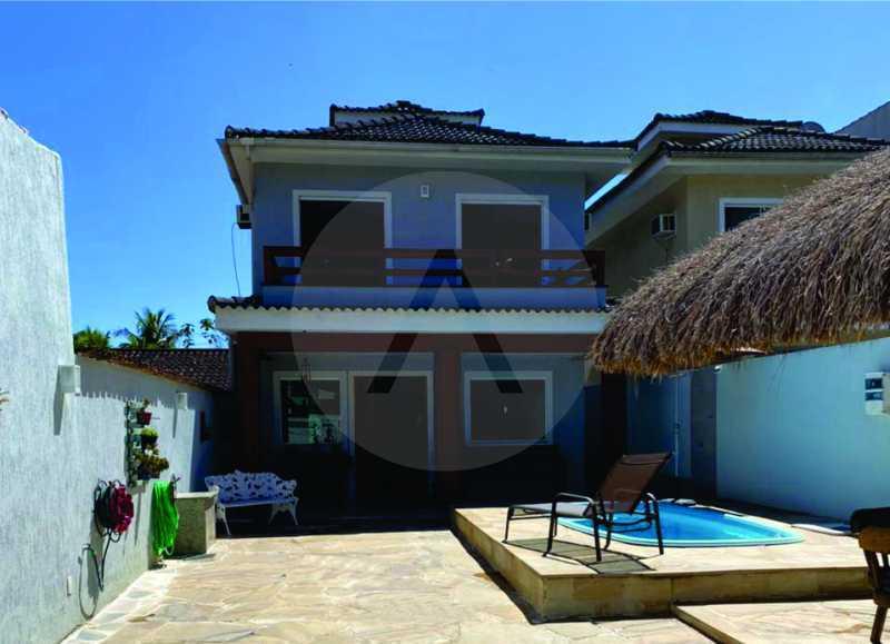2 Casa Condomínio. - Imobiliária Agatê Imóveis vende Casa em Condomínio de 123m² Itaipu - Niterói. - HTCN40090 - 3