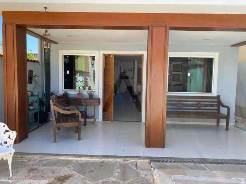 5 Casa Condomínio Itaipu. - Imobiliária Agatê Imóveis vende Casa em Condomínio de 123m² Itaipu - Niterói. - HTCN40090 - 6