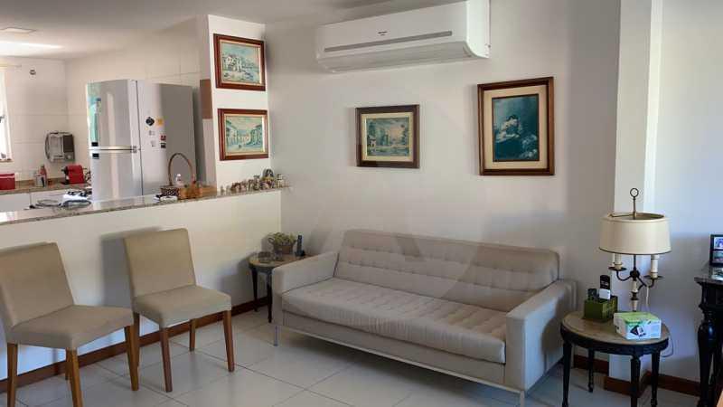 6 Casa Condomínio Itaipu. - Imobiliária Agatê Imóveis vende Casa em Condomínio de 123m² Itaipu - Niterói. - HTCN40090 - 7
