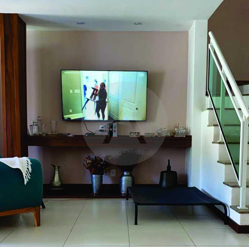 7 Casa Condomínio Itaipu. - Imobiliária Agatê Imóveis vende Casa em Condomínio de 123m² Itaipu - Niterói. - HTCN40090 - 8