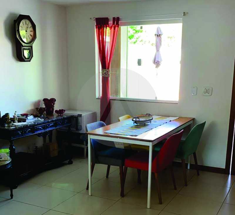 8 Casa Condomínio Itaipu. - Imobiliária Agatê Imóveis vende Casa em Condomínio de 123m² Itaipu - Niterói. - HTCN40090 - 9