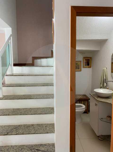 9 Casa Condomínio Itaipu. - Imobiliária Agatê Imóveis vende Casa em Condomínio de 123m² Itaipu - Niterói. - HTCN40090 - 10