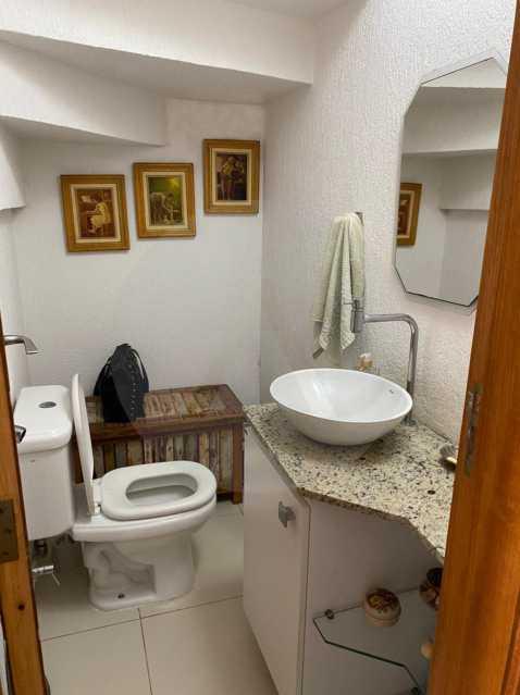10 Casa Condomínio Itaipu. - Imobiliária Agatê Imóveis vende Casa em Condomínio de 123m² Itaipu - Niterói. - HTCN40090 - 11