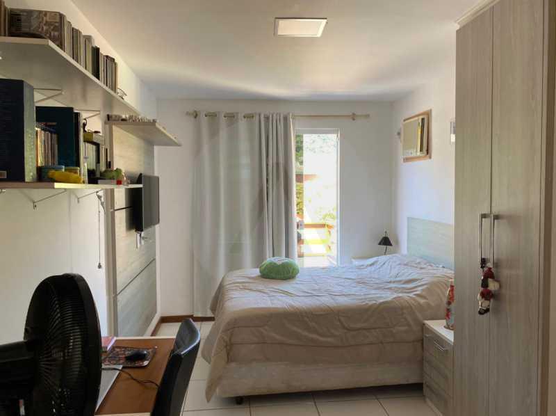 12 Casa Condomínio Itaipu. - Imobiliária Agatê Imóveis vende Casa em Condomínio de 123m² Itaipu - Niterói. - HTCN40090 - 13