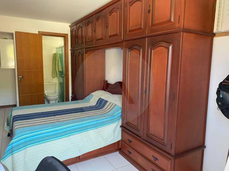 18 Casa Condomínio Itaipu. - Imobiliária Agatê Imóveis vende Casa em Condomínio de 123m² Itaipu - Niterói. - HTCN40090 - 19
