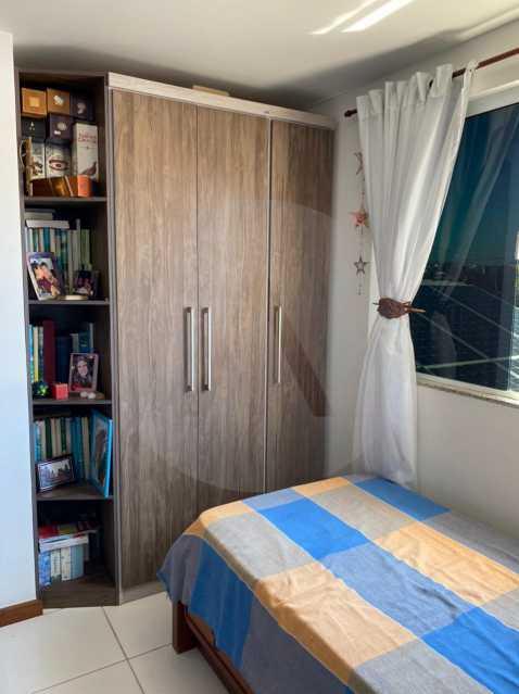 20 Casa Condomínio Itaipu. - Imobiliária Agatê Imóveis vende Casa em Condomínio de 123m² Itaipu - Niterói. - HTCN40090 - 21
