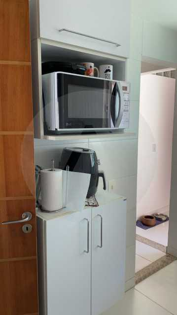 24 Casa Condomínio Itaipu. - Imobiliária Agatê Imóveis vende Casa em Condomínio de 123m² Itaipu - Niterói. - HTCN40090 - 25
