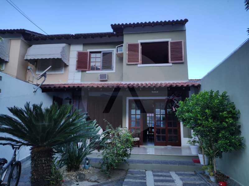 4 Casa Padrão Piratininga. - Imobiliária Agatê Imóveis vende Casa Padrão de 125m² Piratininga - Niterói. - HTCA40133 - 5