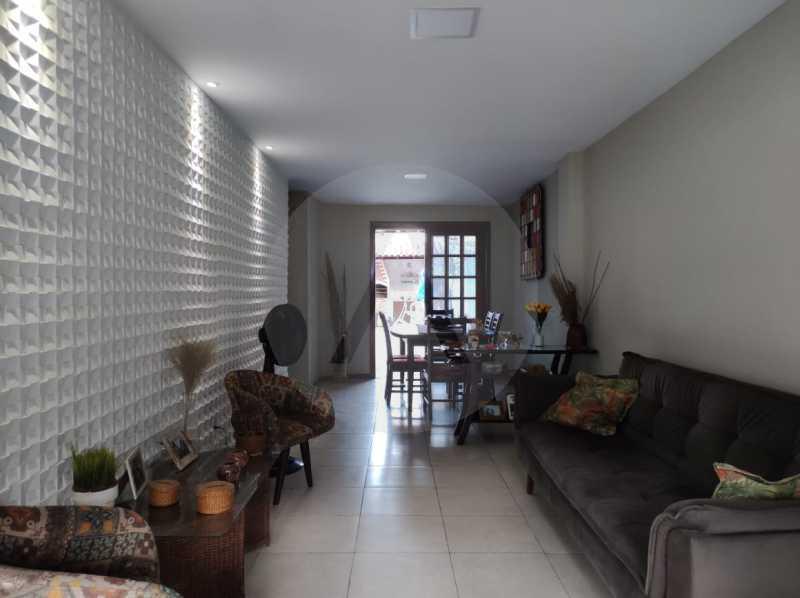 5 Casa Padrão Piratininga. - Imobiliária Agatê Imóveis vende Casa Padrão de 125m² Piratininga - Niterói. - HTCA40133 - 6