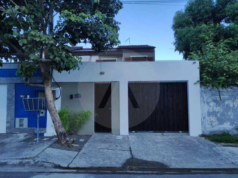 23 Casa Padrão Piratininga. - Imobiliária Agatê Imóveis vende Casa Padrão de 125m² Piratininga - Niterói. - HTCA40133 - 24