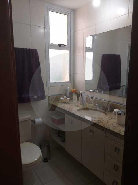 8 Apartamento Padrão Itaipu. - Imobiliária Agatê Imóveis vende Apartamento Padrão de 110 m² Itaipu - Niterói. - HTAP30048 - 9
