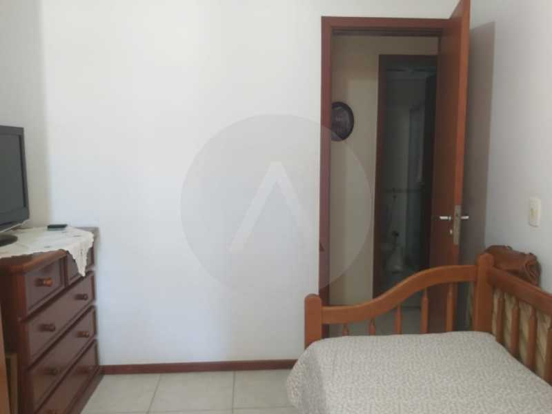 13 Apartamento Padrão Itaipu. - Imobiliária Agatê Imóveis vende Apartamento Padrão de 110 m² Itaipu - Niterói. - HTAP30048 - 14