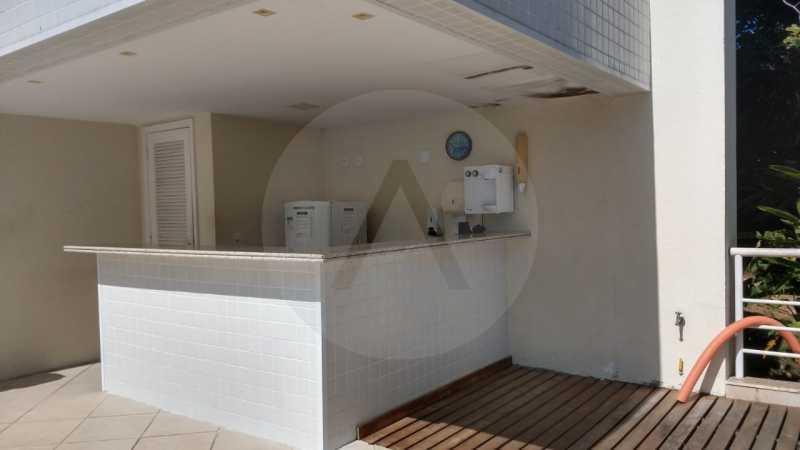 20 Apartamento Padrão Itaipu. - Imobiliária Agatê Imóveis vende Apartamento Padrão de 110 m² Itaipu - Niterói. - HTAP30048 - 21