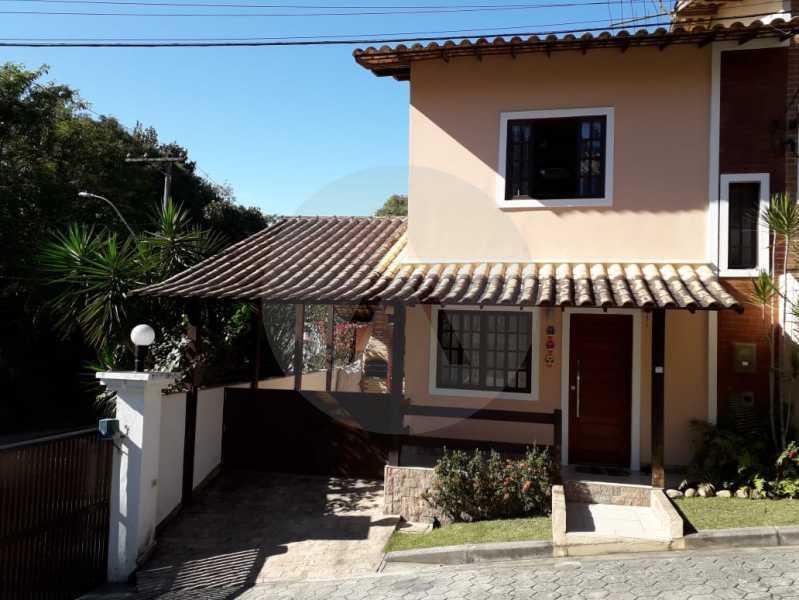 2 Casa Condomínio. - Imobiliária Agatê Imóveis vende Casa em Condomínio - Várzea das Moças - Niterói. - HTCN20053 - 3