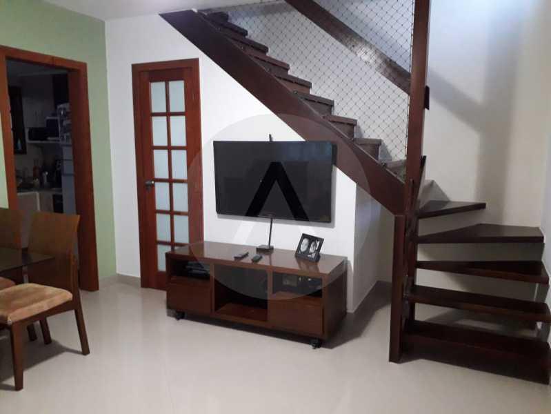 4 Casa Condomínio. - Imobiliária Agatê Imóveis vende Casa em Condomínio - Várzea das Moças - Niterói. - HTCN20053 - 5