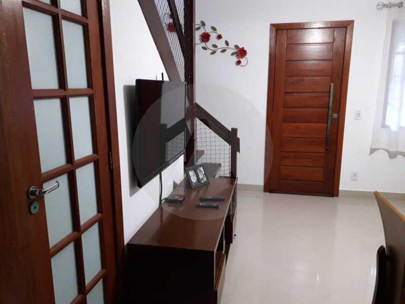 6 Casa Condomínio. - Imobiliária Agatê Imóveis vende Casa em Condomínio - Várzea das Moças - Niterói. - HTCN20053 - 7