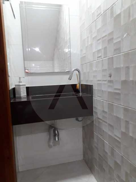 7 Casa Condomínio. - Imobiliária Agatê Imóveis vende Casa em Condomínio - Várzea das Moças - Niterói. - HTCN20053 - 8