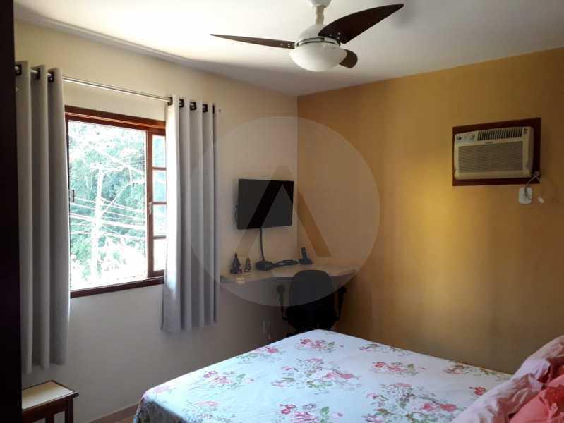 9 Casa Condomínio. - Imobiliária Agatê Imóveis vende Casa em Condomínio - Várzea das Moças - Niterói. - HTCN20053 - 10