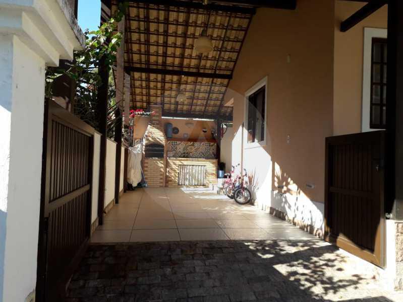 21 Casa Condomínio. - Imobiliária Agatê Imóveis vende Casa em Condomínio - Várzea das Moças - Niterói. - HTCN20053 - 22