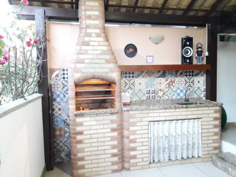 22 Casa Condomínio. - Imobiliária Agatê Imóveis vende Casa em Condomínio - Várzea das Moças - Niterói. - HTCN20053 - 23
