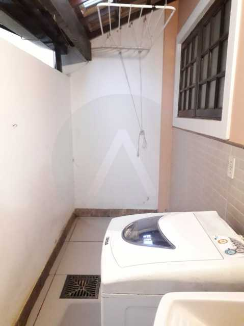 23 Casa Condomínio. - Imobiliária Agatê Imóveis vende Casa em Condomínio - Várzea das Moças - Niterói. - HTCN20053 - 24