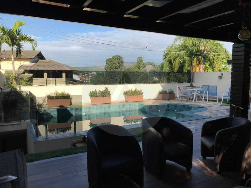 1 Casa Camboinhas. - Imobiliária Agatê Imóveis vende Casa Triplex - Camboinhas - Niterói. - HTCA70002 - 1