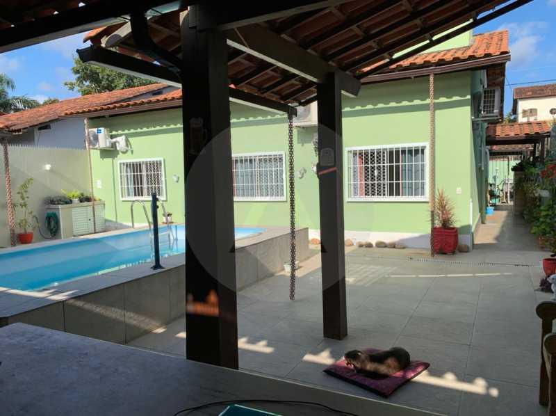 casa barravento 1 - Imobiliária Agatê Imóveis vende Casa padrão de 245m² Piratininga - Niterói - HTCA30276 - 3