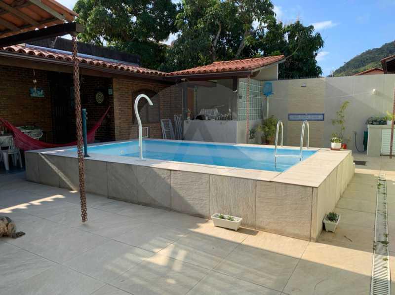 casa barravento 2 - Imobiliária Agatê Imóveis vende Casa padrão de 245m² Piratininga - Niterói - HTCA30276 - 4