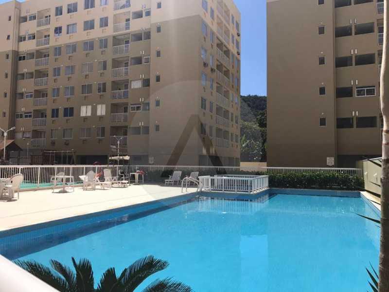 1 Apartamento Piratininga. - Imobiliária Agatê Imóveis vende Apartamento de 72 m² Itaipu - Niterói. - HTAP30049 - 1