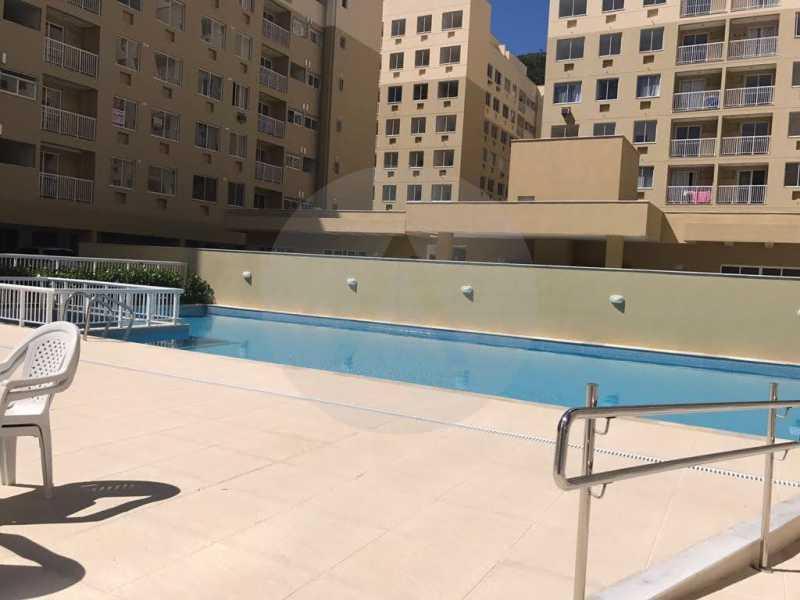 2 Apartamento Piratininga. - Imobiliária Agatê Imóveis vende Apartamento de 72 m² Itaipu - Niterói. - HTAP30049 - 3