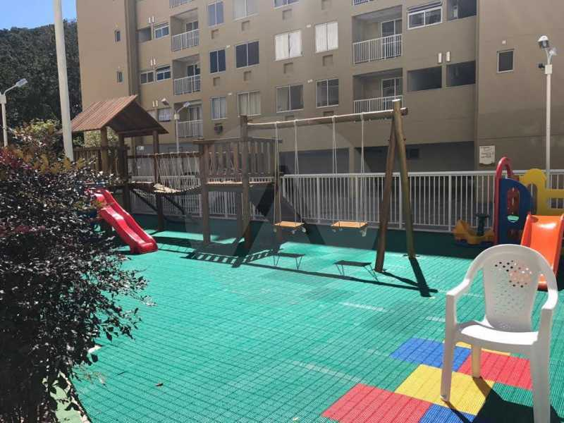 3 Apartamento Piratininga. - Imobiliária Agatê Imóveis vende Apartamento de 72 m² Itaipu - Niterói. - HTAP30049 - 4
