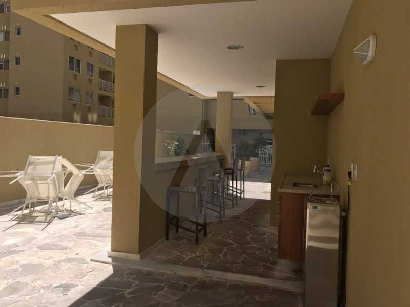 4 Apartamento Piratininga. - Imobiliária Agatê Imóveis vende Apartamento de 72 m² Itaipu - Niterói. - HTAP30049 - 5