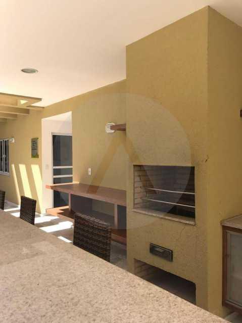 8 Apartamento Piratininga. - Imobiliária Agatê Imóveis vende Apartamento de 72 m² Itaipu - Niterói. - HTAP30049 - 9
