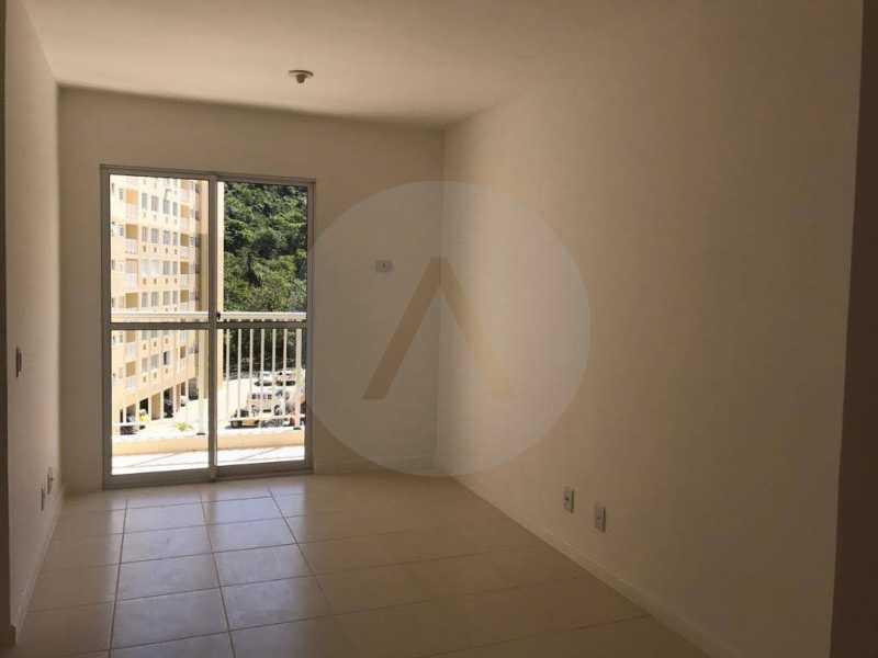 11 Apartamento Piratininga. - Imobiliária Agatê Imóveis vende Apartamento de 72 m² Itaipu - Niterói. - HTAP30049 - 12