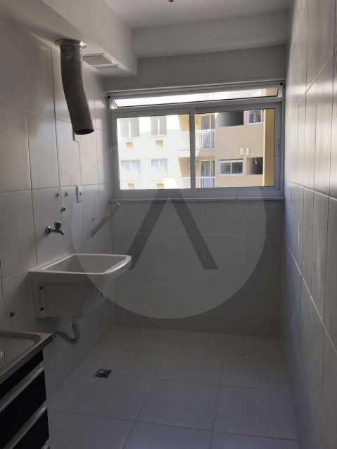 21 Apartamento Piratininga. - Imobiliária Agatê Imóveis vende Apartamento de 72 m² Itaipu - Niterói. - HTAP30049 - 22