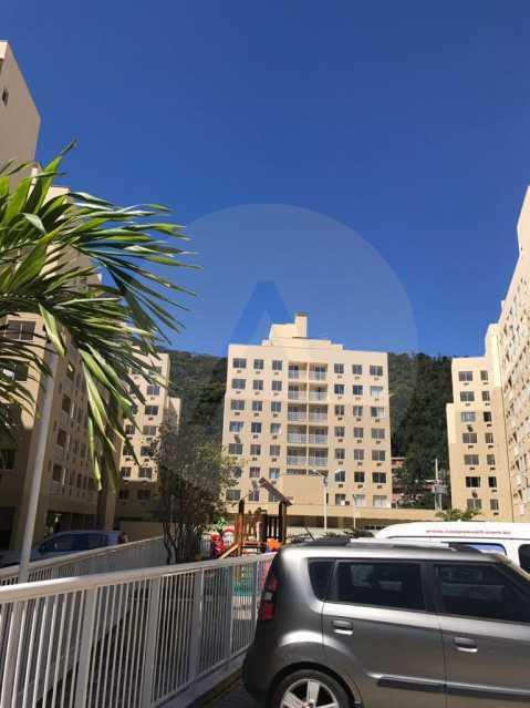 26 Apartamento Piratininga. - Imobiliária Agatê Imóveis vende Apartamento de 72 m² Itaipu - Niterói. - HTAP30049 - 27